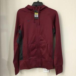 Nike Team Full Zip hoodie for women.